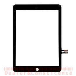 2019 samsung tab branco Tela 30PCS DHL gratuito digitador Touch para iPad Apple 9.7 (2018 Version) A1893 A1954 tem painel de lente de vidro dianteiro Sensor Repair Para iPad 6