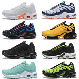 Cheap Kids Speed Trainer Knit High TN Sports Shoes 2019 New top quality Sneakers For Boys And Girls