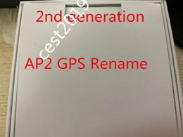 mini auriculares bluetooth para mp3 Rebajas Aire Gen 3 H1 chip de GPS Cambiar nombre de carga inalámbrica Bluetooth Auriculares PK 2 vainas AP Pro AP2 AP3 W1 viruta Auriculares de segunda generación