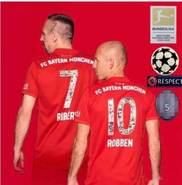 Canada Polices spéciales avec des maillots de football RIBERY ROBBEN Bayern 2019 19/20 Bayern Munich, maillots de football populaires, personnalisés en vente cheap popular soccer jerseys Offre