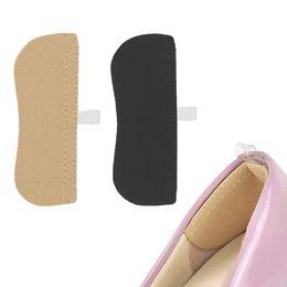 Zapatos de relleno de tacón trasero online-1 par de almohadillas de tela transpirable Invisible Back Soft Heel Pads para zapatos de tacón alto Agarre Adhesivo Liner Cushion Insertar plantillas