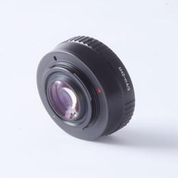 Adaptador de reforço on-line-adaptador de lente turbo Focal Redutor Speed Booster Turbo Adaptador para M42 Mount Lens para Camera M4 / 3 MFT GH4 GF6 GX1 GX7 EM5