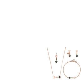 2019 100% argent sterling 925 argent plaqué or rose 18 carats à première vue multi-élément Bracelet collier pendentif boucles d'oreilles ? partir de fabricateur