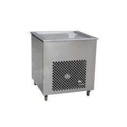 Friggere la panna di ghiaccio macchina online-VENDITA CALDA smart Thai fritto macchina per il gelato singola padella gelato rotolo macchina 110 v / 220 v
