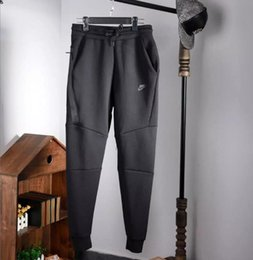 Pantalones de cordón para hombre online-Windrunner New Mens Pants Diseñador Jogger Track Pants Fashion Brand Jogger Clothing Side Stripe Drawstring Pantalones Hombres Brand Sport Pants