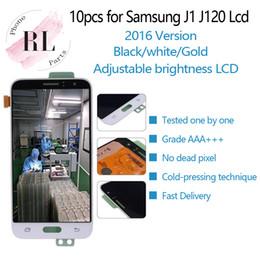 Регулируемая яркость ЖК-дисплей для Samsung galaxy J1 2016 J120F J120M ЖК-дисплей с сенсорным экраном дигитайзер для Samsung J1 2016 экран от