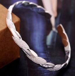 großhandel sterling silber verstellbaren armband Rabatt Neue Ankunft 925 Sterling Silber Armreifen Für Frauen Männer Öffnen Hand Schmuck Böhmischen Mode Armband Chinesischen Stil Einstellbare