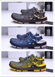 Deutschland Neue Sommer koreanische Version des Trends Männer halb Pantoffeln Persönlichkeit Sandale Sandale rutschfesten weichen Boden cheap korean half slip Versorgung