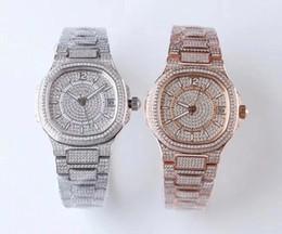 2019 relogios mecânicos finos 2019 hot style lady watches Caros relógios das mulheres relógio automático de platina 324C relógio mecânico fino relógio jf diamante relogios mecânicos finos barato