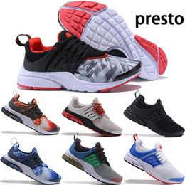 Laboratorio sportivo online-Migliore qualità Nike Lab ACRONYM X air Presto Mid V2 scarpe da corsa Uomo giallo nero bianco freccette strada Sneakers donna camuffamento graffiti stivali 36-45