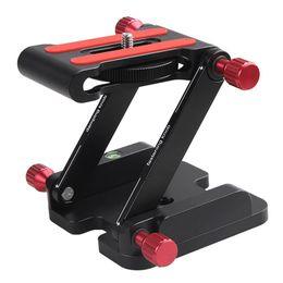 Soporte de cámara plegable online-Yiwa Z Flex Tilt Head Plegable Quick Release Plate Camera Ball Head Stand para DSLR Trípode Slider Rail Stabilizer