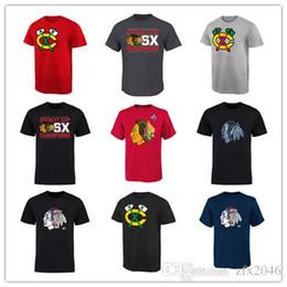 Argentina 2019 Hombres Chicago Blackhawks Designer camisetas cosidas Camiseta deportiva Blanco Negro Rojo Camisetas de hockey camisetas bordadas Cosido Big lo Suministro