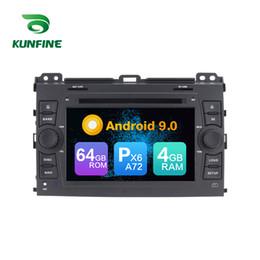 Toyota prado dvd player онлайн-Android 9.0 Core PX6 A72 Ram 4G Rom 64G Автомобильный DVD GPS Мультимедийный плеер Автомобильный стереосистема для Toyota PRADO Cruiser 120 Магнитола