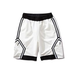 2019 dunkle denimkurzschlüsse männer Designer Shorts Sport Shorts für Männer Basketball Shorts Männer Marke Hosen New Fashion Jogger The Shot Ziege Männer Schwarz und Weiß