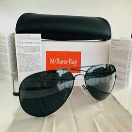 2019 lentes de aviador de mulher 2019 Óculos De Sol Polarizados Homens / Mulheres Piloto Óculos De Sol UV400 Óculos Óculos De Aviador Motorista Moldura De Metal Lente Polaroid