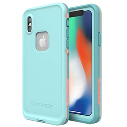sealing plastic for iphone Coupons - Waterproof Case for iPhone X XR XS MAX Samsung galaxy S10 Plus Underwater Full Sealed Cover IP68 Waterproof Case with Built