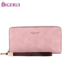 2019 beliebte koreanische brieftaschen Neue Frauen Brieftasche Einfache Mode Lange Reißverschluss Handytasche Koreanische Version Des Wild Populären Clutch günstig beliebte koreanische brieftaschen
