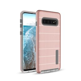 gummi-handy haut Rabatt TPU + PC Hybrid Defender Rugged Armor Case für Samsung Galaxy S8 Plus S10 Lite Note 8 9 Stoßfestes Cover