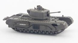 Modelos de guerra mundial on-line-1:72 Segunda Guerra Mundial AM British Churchill VII Infantaria Tanque Liga Produto Acabado Modelo
