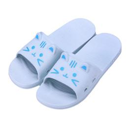 Canada mokingtop (mokingtop) pantoufles de bain plat pour chat de bande dessinée, sandales d'été, chaussons d'intérieur et d'extérieur Chaussures hommes # g10 supplier flats bath Offre