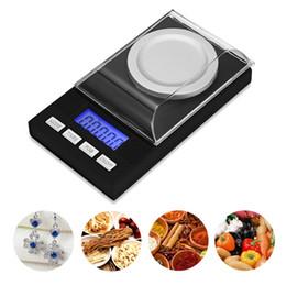 alimentos dietéticos Desconto Ferramenta da medida do peso da escala do bolso da elevada precisão do miligrama de 50g / 0.001g Digitas / gram com exposição do LCD para o laboratório