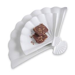 Pintando platos de cerámica online-Placa de cerámica para bodas Restaurante de estilo japonés Cubiertos Platos pintados a mano Porcelana Decoración Placa