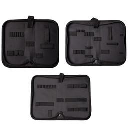 Trousse de rangement multifonctions pour sac de rangement pour montre en toile noire avec pochette zippée taille S / M / L Portable Zip ? partir de fabricateur