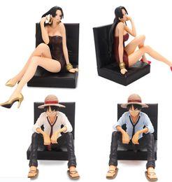 conjuntos de brinquedos de unicórnio Desconto 13 centímetros incrível One Piece escritório decoração Imperatriz Luffy Anime Collectible Action Figure PVC Brinquedos para o Natal presente frete grátis