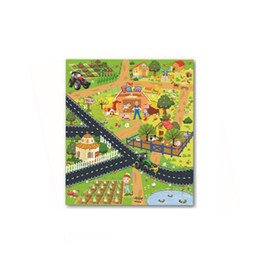 Canada Enfants Bébé Tapis Jouets Éducatifs Tapis Enfants Puzzle Early Education Avancé Non-tissé Jeu Scène Tapis 70 * 80 cm Offre