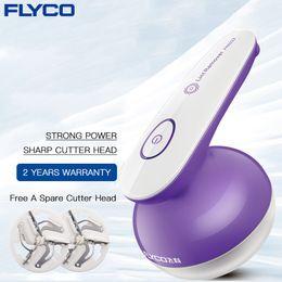 máquina de barbear Desconto Flyco Removedor Com Roupas Máquina Elétrica Recarregável Para A Remoção de Bobinas Profissional Fio De Lã Camisola Shaver Fr5222 Q190606