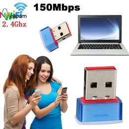 Scheda mini rete pci online-Malloom 2018 adattatore di nuovo arrivo 150M Mini USB 150Mbps WiFi Network Adapter senza fili Card per 802.11n / g / b # 25