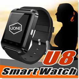 smart watch höhenmesser Rabatt U8 smart watch armbanduhren mit höhenmesser und motor für iphone6 8 xr androidiso bluetooth smart zubehör u8 armbanduhr