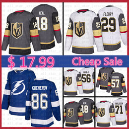 james neal hockey trikot Rabatt Mens Vegas Golden Knights Hockey Jersey Marc-Andre Fleury James Neal Erik Haula William Karlsson Perron Tampa Bay Lightning Nikita Kucherov
