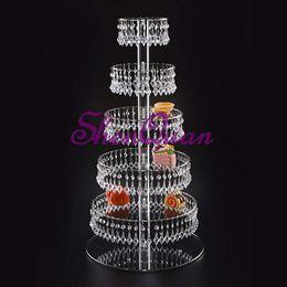 Pastel de boda del pilar online-Matrimonio soporte de flor columna pilar centro de la boda decoración cristal pastel soporte accesorios arreglos de mesa 100 cm de altura