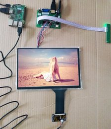 lcd display módulo carro Desconto 10.1 Polegada 1280 * 800 IPS Touch LCD Kit USB 5 V Suporte Win7 8 10 Raspberry Pi Android Linux Equipamentos industriais 10 dedos