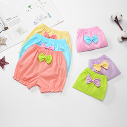 niedliche mädchen baumwollschlüpfer Rabatt Kinder 100% Baumwolle Unterwäsche Höschen Mädchen, Baby, Kleinkind Cute Big Bow Shorts für Kinder Mode hochwertige Unterhose Geschenke