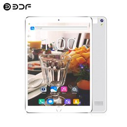 3g calling tablet 2gb ram Promo Codes - BDF New 10 Inch Android 7.0 Tablets Octa Core 2G RAM 32G ROM Tablet PC WIFI Sim 3G 4G Phone Call LTE Tablets Small Computer 789
