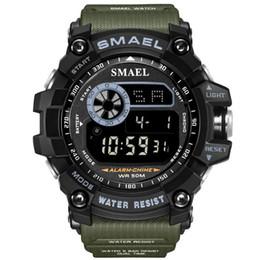 Argentina Relojes de pulsera digitales impermeables para hombres Reloj Digitais Hombre corriendo Hombre Hombre Digitales Camping Camping Natación 6Colors Suministro