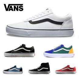 34018603f Vans Old Skool Sk8 zapatos casuales zapatillas de lona para hombre mujer  negro blanco rojo YACHT CLUB MARSHMALLOW zapatos de skate al aire libre  tamaño ...