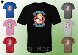 2019 shirt neues designbild Männer T-Shirt - Dump TRUMP TRUMP Bild - Neues Design Herren Shirts Cartoon T-Shirt Herren Unisex New Fashion rabatt shirt neues designbild