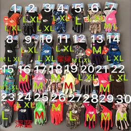 As luvas do Norte NF Inverno Mulheres Homens luvas do toque de tela dos retalhos Telefingers Dedos completa Mittens Marca exterior Desporto Ski Glove C92307 de Fornecedores de colete roxo profundo