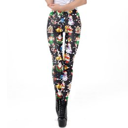 SchöN Sommer Mädchen Legging Spandex Aptitud Print Leopard Leggings Leggins Milch Seide Frauen Hosen Tetris Kleidung Leggings Hosen