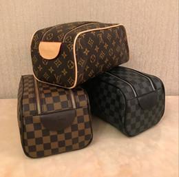 maquiagem necessária Desconto quente homens sacos de venda Luxo viajam mulheres nécessaire moda lavar saco sacos grandes capacidade de cosméticos maquiagem higiene Pouch