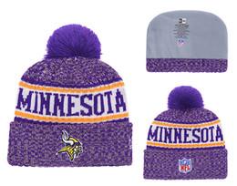 best sneakers 9b7a7 7a521 hats vikings NZ - Men  039 s Minnesota Vikings New Purple 2018 Sideline Cold