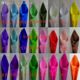 детские игрушки Скидка Оптово-бесплатная доставка 50 шт. / Лот одноцветная папиросная бумага 50X50CM подарочная упаковочная бумага цветок упаковочная бумага с мая дизайн