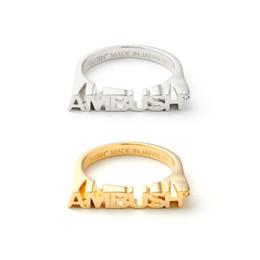 O anillo de collar online-2018n nueva venta caliente HERON PRESTON AMBUSH anillos pendientes Collares CHAIN18 HP Te amo a la luna y la espalda collar envío gratis