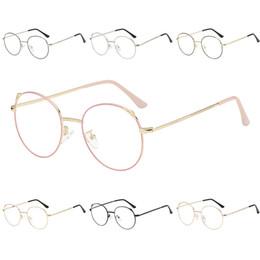 e38eefe69f Fashion Vintage Retro Metal Frame Clear Lens Glasses Nerd Geek Eyewear  Eyeglasses Oversized Round Circle Eye Glasses