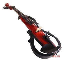 2019 partes de violino usadas cópia marca violino em silêncio YSV-104 4/4 lmported captador fones de desempenho profissional exercer violino eletrônico acompanhamento Bluetooth