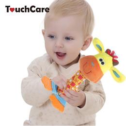 telemóveis coloridos Desconto Gafanhoto do bebê 25 cm Colorido Animais Infantis Do Bebê Chocalhos Brinquedos de Pelúcia Macia Crianças Carro Entrega Mobiles BB Sounder Ringbell Mordedor Pelucia