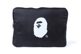 Tavoletta aggiuntiva online-34 * 23 * 2cm Borsa per file spessa Aggiungi Extra Layer Nuova moda Monkey Print Storage Bag Accessori per Tablet PC